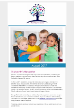 August Newsletter The Pediatric Center