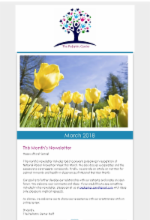 March Newsletter 2018 The Pediatric Center