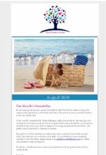 August Newsletter 2018